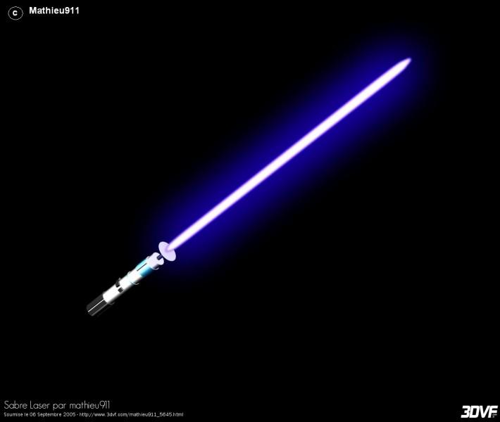 Combien de couleurs de sabre laser existe-t-il ?