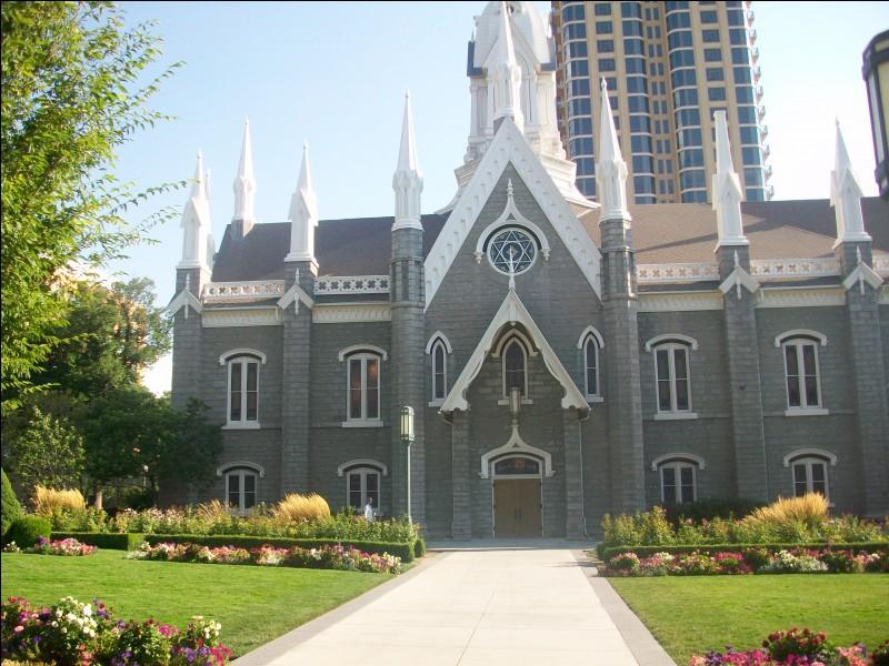 Nous voici à Temple Square, le siège de l'Église de Jésus-Christ des Saints des Derniers Jours, autrement dit les Mormons. Dans quel pays sommes-nous ?