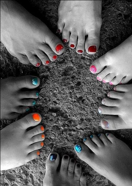 A qui appartient le pied quand il désigne un tissu ?