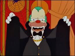 À cause de qui Krusty est-il aller en prison ?