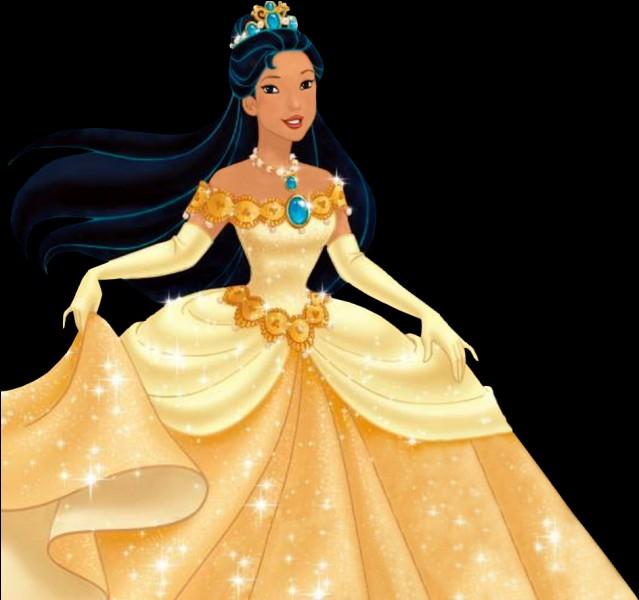 Cette princesse s'appelle Mulan.