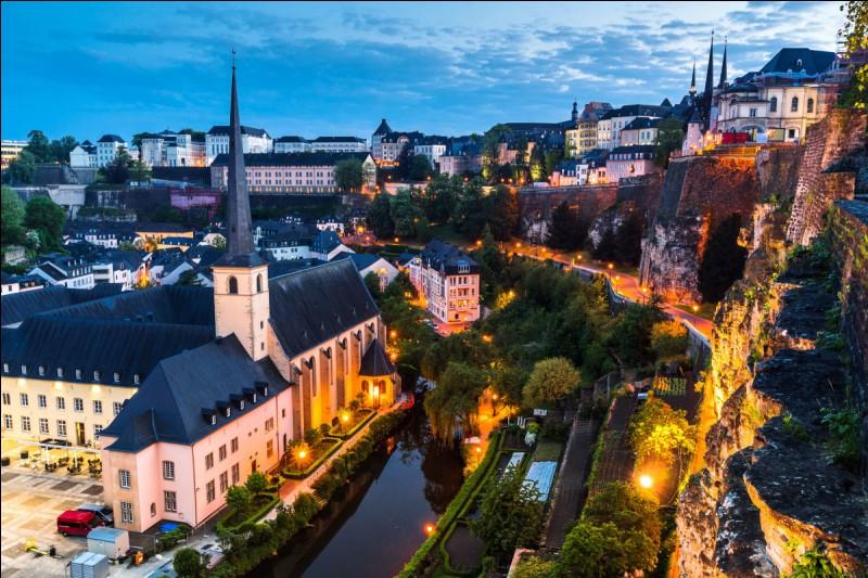 La capitale du Luxembourg est Luxembourg.