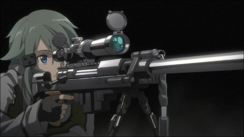 Dans l'anime, il y a deux élèves doués au sniper. Qui sont-ils ?