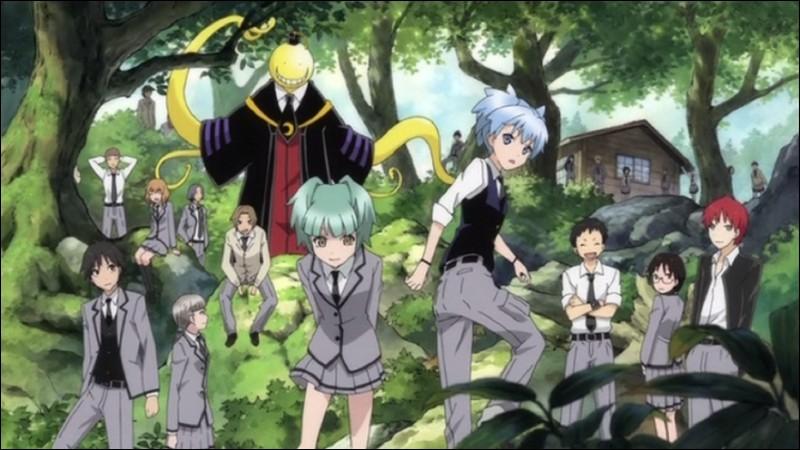 Quelle élève a blessé en premier Koro-sensei ?