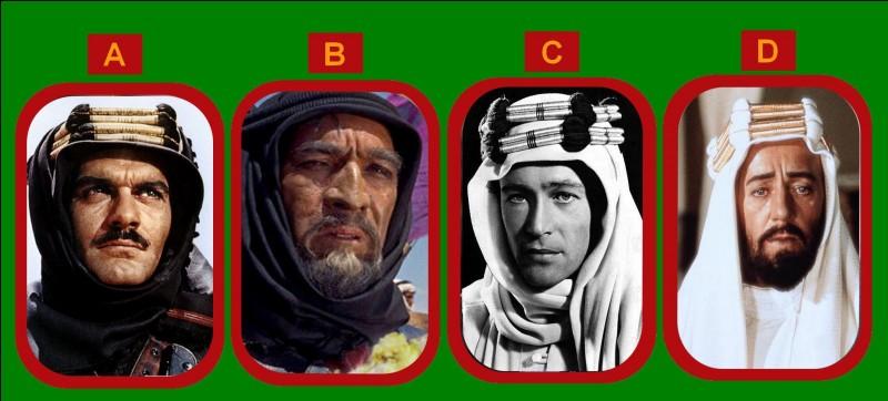 """Qui incarna """"Lawrence d'Arabie"""" en 1963 au cinéma ?"""