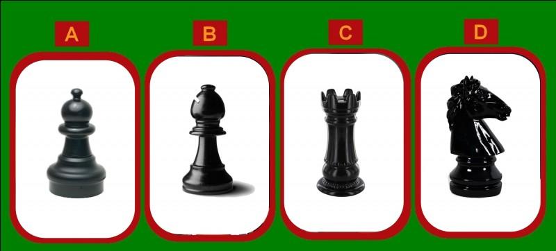 Sur un échiquier, quelle pièce est la voisine de droite du roi ?