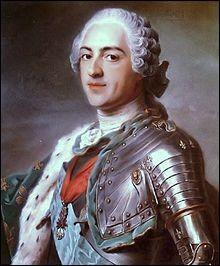 Lequel de ces évènements ne s'est pas déroulé sous le règne de Louis XV ?