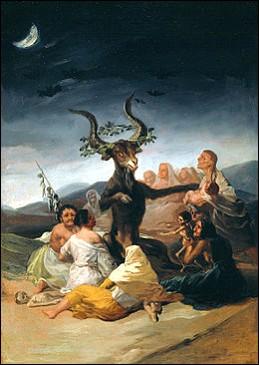 "Qui a peint ""Le Sabbat des sorcières"" ?"