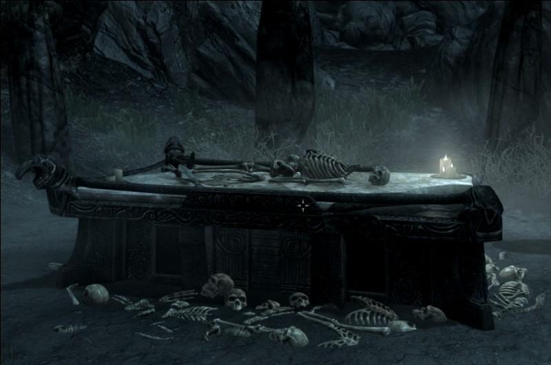 Quel est le nom de cet art divinatoire par lequel on invoque les morts ?