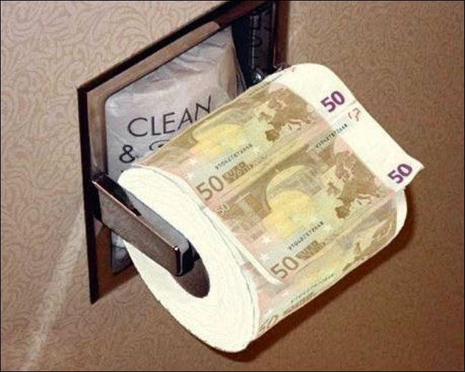 Peu importe la provenance de l'argent, l'argent reste de l'argent.