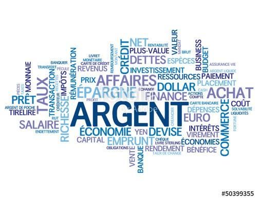 Argent, banque, économie, prix, impôt
