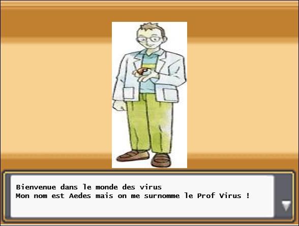 Avant de démarrer son aventure dans la région de Viridae, Sabouraud doit écouter le discours du Pr Aedes sur les virus. Quelle est la définition d'un virus ?