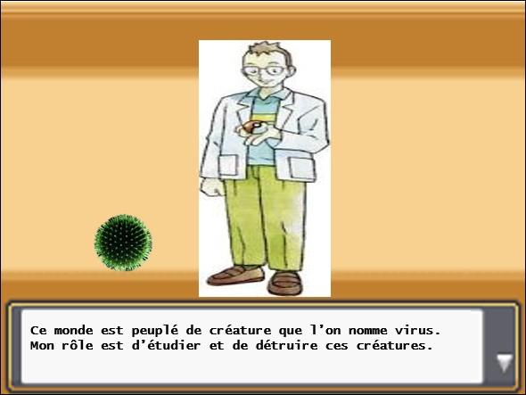 Le Pr Aedes continue son long discours à destination de Sabouraud en abordant le sujet de la taille d'un virus. En matière d'ordre de grandeur à quelle structure du corps humain la taille d'un virus est-elle la plus proche ?