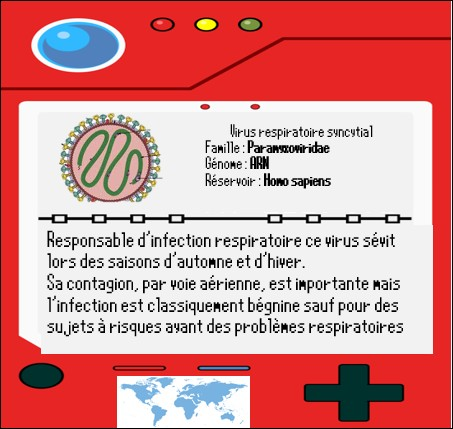 """Après l'obtention du badge """"Zoonosia"""" Sabouraud part en direction de Lymphos-sur-Mer pour la prochaine arène. Durant ce trajet il croise le virus respiratoire syncytial ou VRS.Ce virus est bien connu d'une partie de la population. Laquelle ?"""