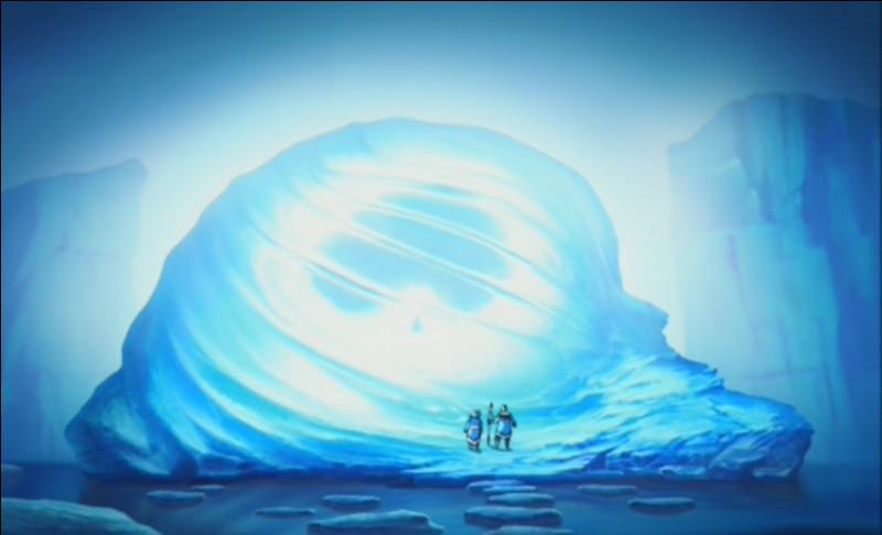 Combien de temps l'Avatar est-il resté enfermé dans l'iceberg ?