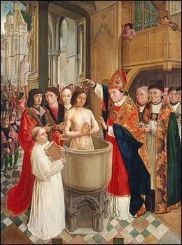 Quel était le prénom de l'évêque qui baptisa Clovis en 498 ?