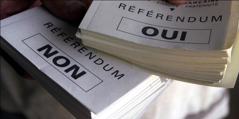 En France, en quelle année s'est déroulé le référendum sur le quinquennat présidentiel ?