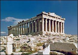 """Grec ancien - Le Parthénon est un édifice en marbre situé sur l'acropole d'Athènes. Quelle est la traduction littérale de """"Parthénon"""" ?"""