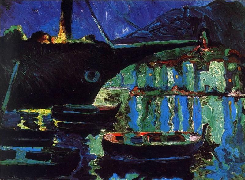 """Qui a représenté le """"Port de Cadaquès la nuit"""" ?"""