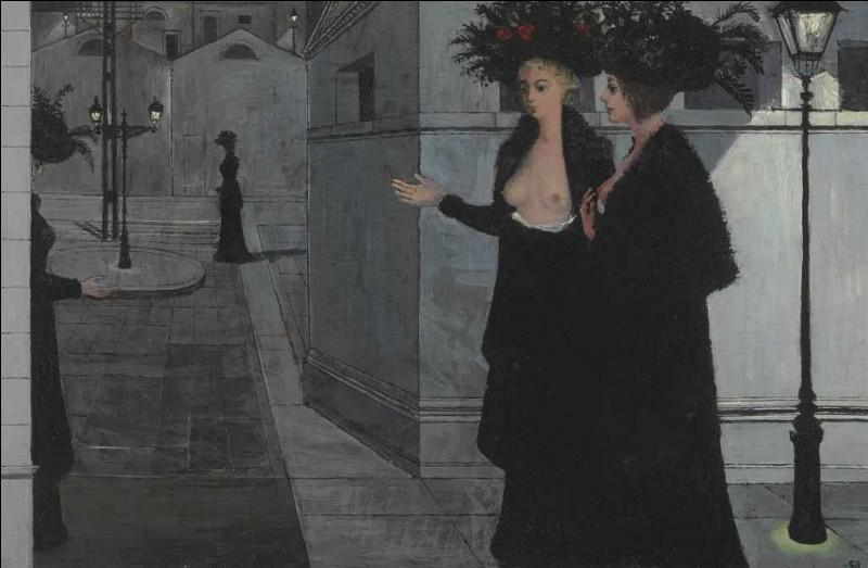 "Qui a peint ""Promenade la nuit"" ?"