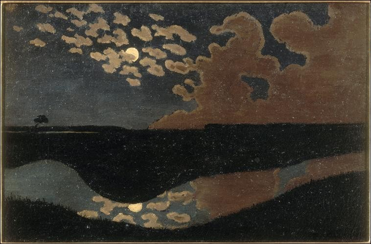 """Qui a peint ce """"Clair de lune"""" ?"""
