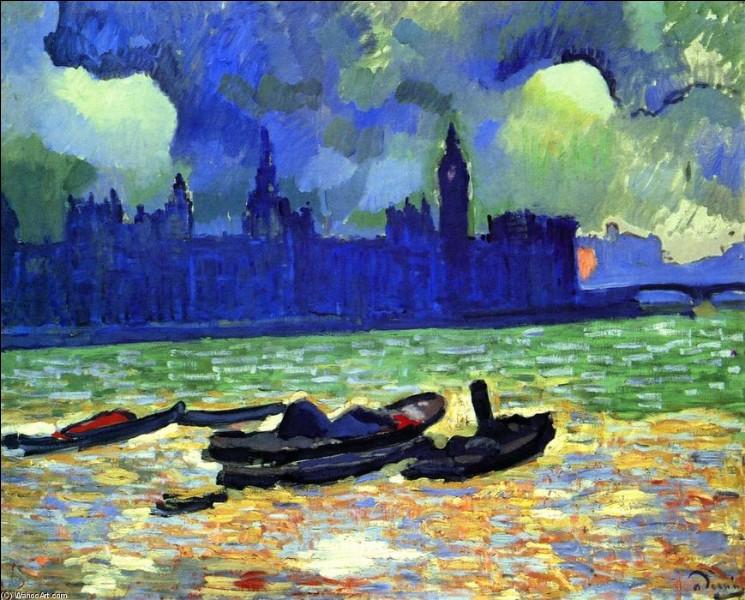 """Qui est le peintre des """"Chambres du Parlement de Londres, la nuit"""" ?"""