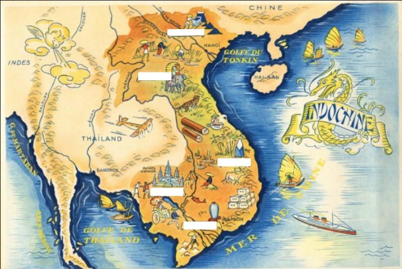 Quelle région est étrangère au Vietnam ?