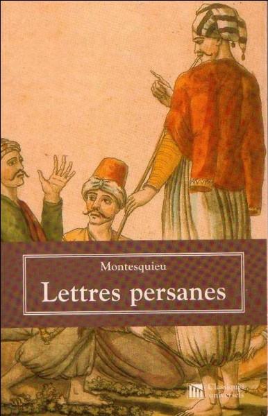 Quel était le prénom de Montesquieu ?