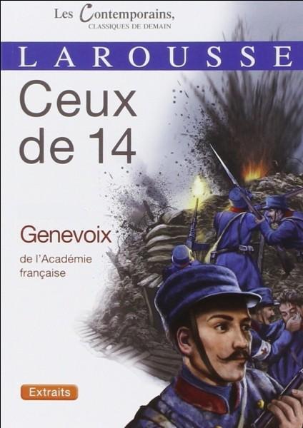 Comment Genevoix se prénommait-il ?