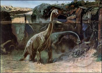 Les sauropodes tels Brachiosaurus pouvaient-ils rester la majeure partie de leur temps dans les lacs et les marécages ?