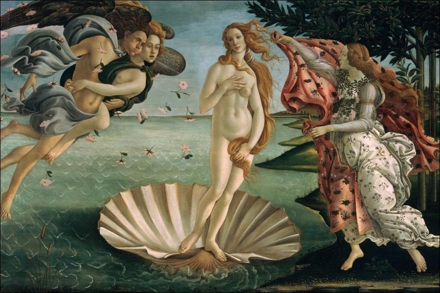 Qui a peint ce tableau, 'la naissance de Vénus' ?