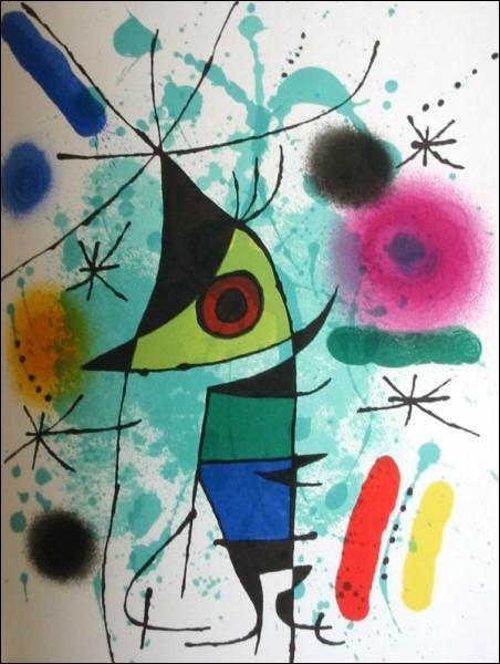 Qui a peint ce tableau, 'singing fish' ?