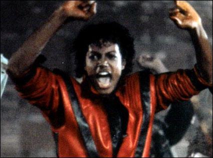 En quelle année est sorti Thriller ?