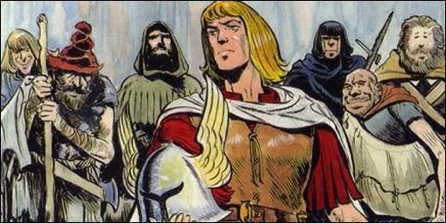 Quel est le nom de cette bande dessinée qui a pour héros Amaury ?
