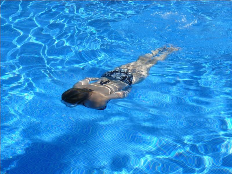 Parmi ces propositions, laquelle sais-tu faire en nage ?