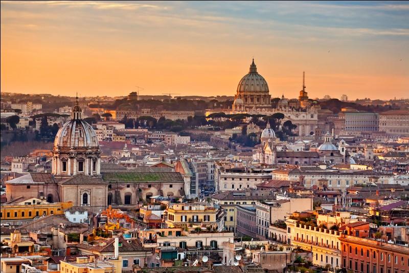 Quel fleuve passe par Rome ?