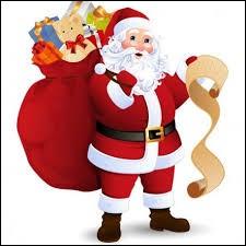 À qui le Père Noël offre-t-il des cadeaux ?