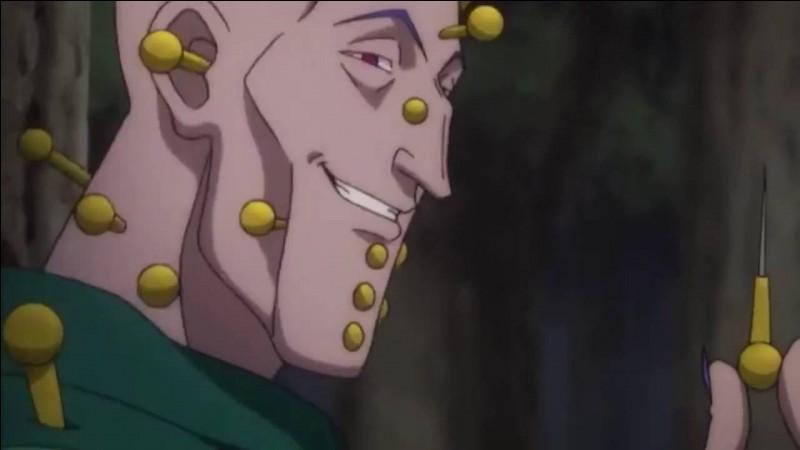 """Dans le manga """"Hunter X Hunter"""", quel est le pseudonyme que se donne Illumi lors de l'examen Hunter ?"""