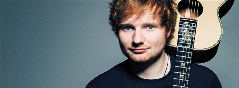 """C'est un chanteur anglais qui a cartonné avec sa chanson """"Shape of You""""..."""