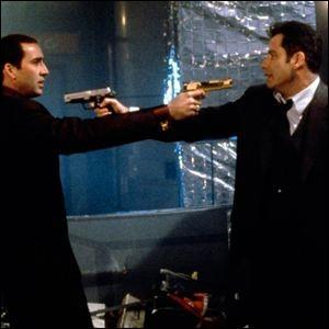 Un film de John Woo avec Nicolas Cage et John Travolta :
