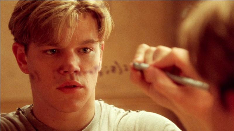 Un film de 1997 avec Matt Damon, Robin Williams et Ben Affleck :