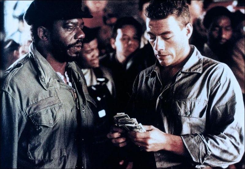 Dans ce film de 1990, Lyon est le prénom de Jean-Claude Van Damme :