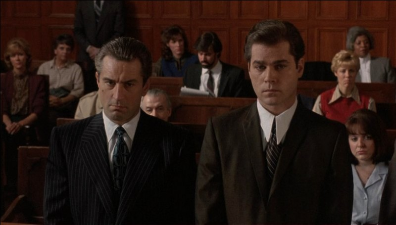 Robert DeNiro et Ray Liotta dans ce film de Martin Scorsese, sorti en 1990 :