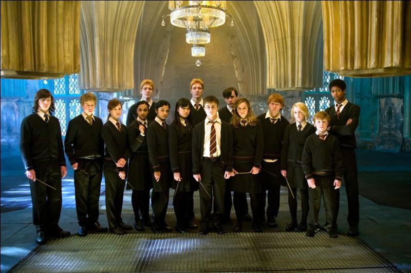"""Qui Harry a-t-il embrassé dans la Salle sur Demande dans """"Harry Potter et l'Ordre du Phénix"""" ?"""
