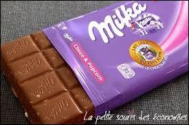 Quelles sont les deux couleurs de la vache mascotte de la marque de chocolat Milka ?