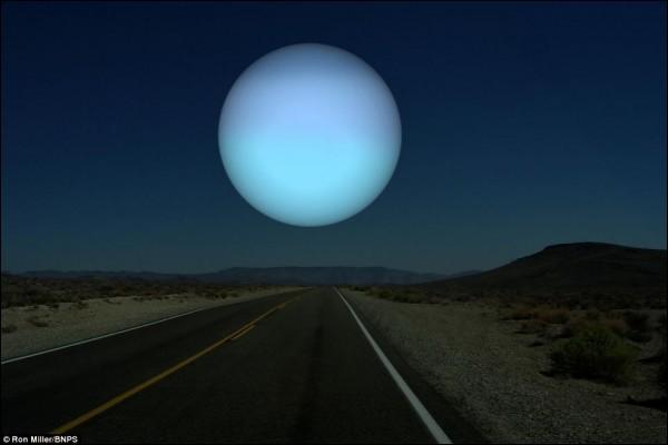Quel est le classement d'Uranus par rapport au Soleil ?