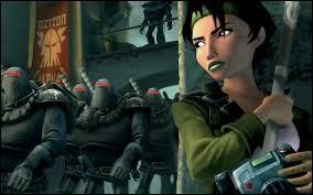 Que découvre Jade à la fin du jeu ?