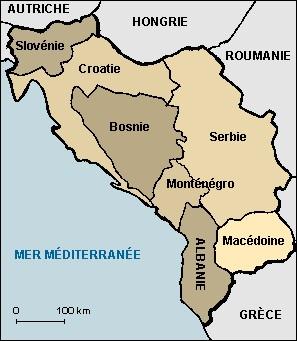 S'agit-il des bons territoires de la Yougoslavie après la Seconde Guerre mondiale ?