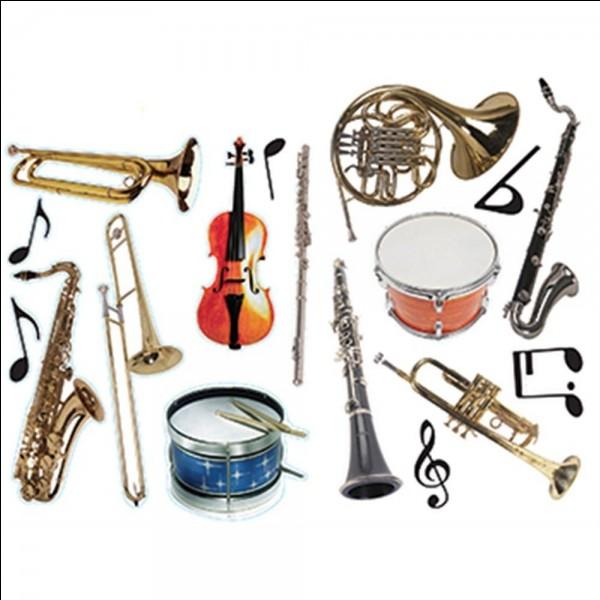 Choisis un instrument :