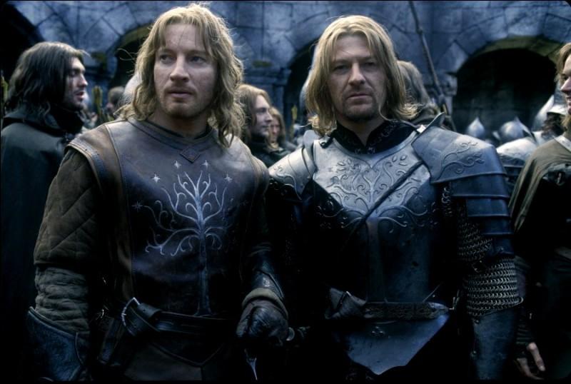 """Dans """"le Seigneur des Anneaux"""" comment se nomme le frère de Boromir ?"""